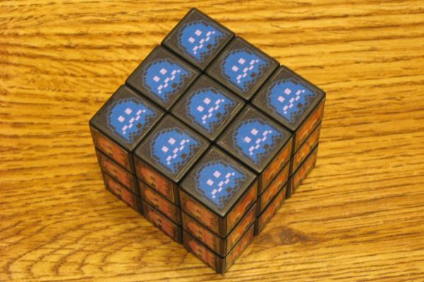 Pac-Man Rubik's Cube, Flipside