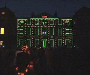 3d Projection Mapping Demo has a Cameo by Pac-Man