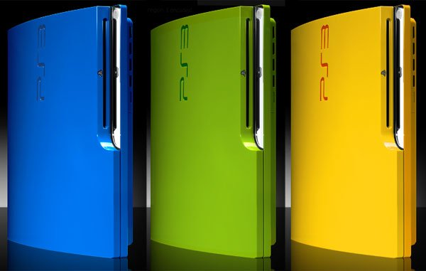 ps3 slim colorware colors