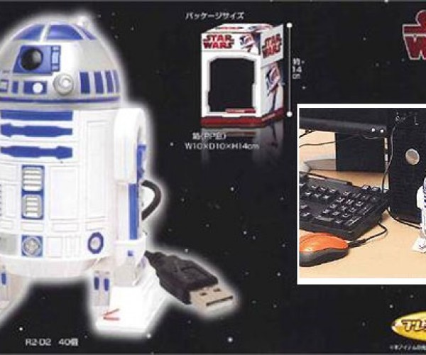 R2-D2 Humidifier Droid Keeps the Galaxy Nice and Steamy [Weird USB]