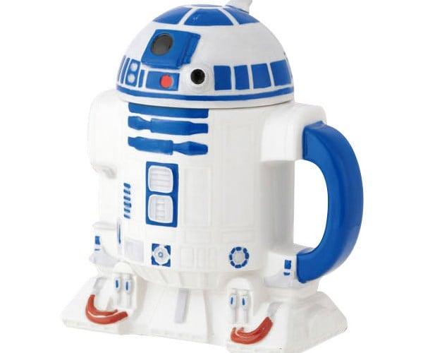 R2-D2 Coffee Mug Flips Its Lid for a Cuppa Java