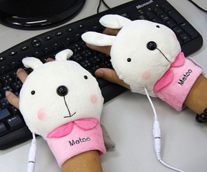 Bear and Rabbit USB Hand Warmers Perfect for Furries