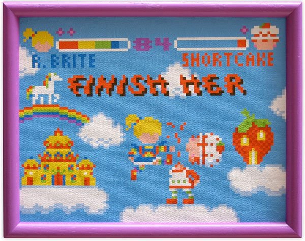 rainbow_brite_strawberry_shortcake_fight