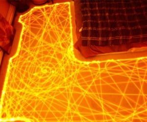 Roombas Make Dazzling Time-Lapse Light Paintings