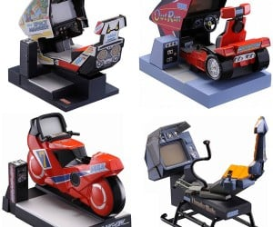 Sega Taikan Mini Arcade Cabinets: Video Games for Mice