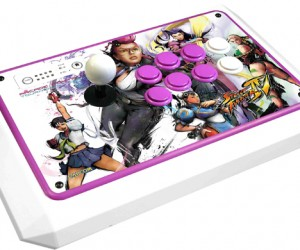 'Femme Fatale' Street Fighter Iv Fightstick is Pink, Powerful, and Pricey