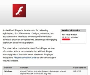 Oops: Upgrading Your Mac'S Os to Snow Leopard Downgrades Your Flash Player