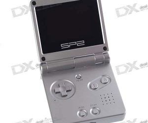 Sp2 Handheld Emulator: Looks Like a Game Boy Advance, but Plays NES, SNES, Gbc, Gba and Neo-Geo Games, Videos and Music