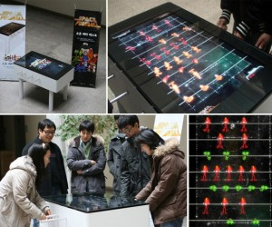 Space Foosball: Foosball Gets Virtual