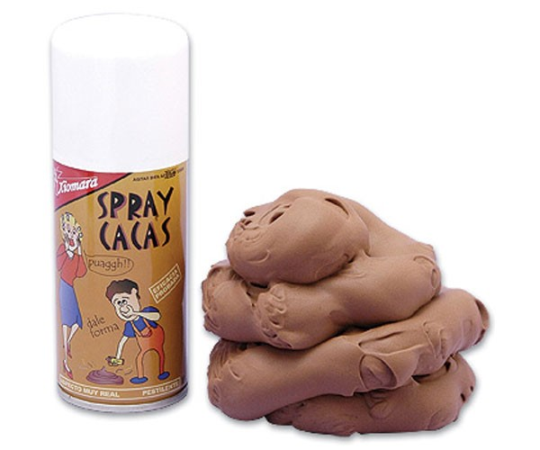 Spray Cacas: Si Amigo, Caca.