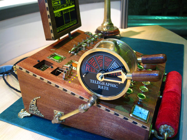 steampunk video controller 31. Not being a broadcast video expert, ...