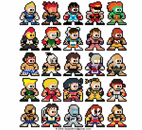 street-fighter-IV-rockman-version