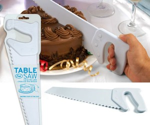Use a Table Saw to Cut Your Cake