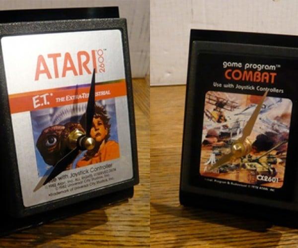 Atari 2600 Cart Clocks, Because You Hate Games