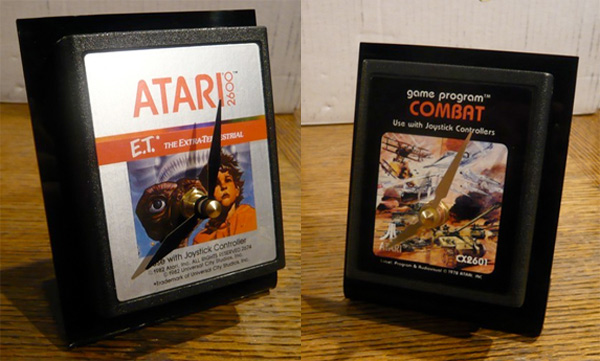 atari cartridge clock