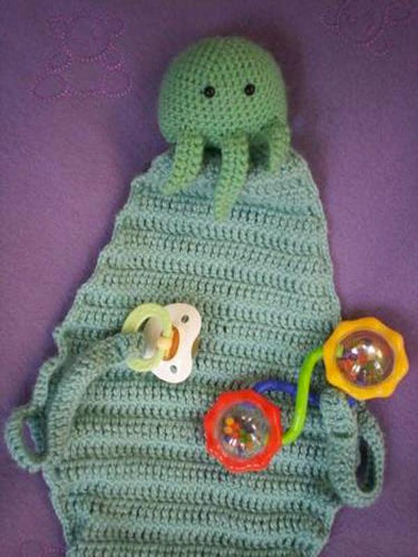 cthulhu baby blanket crochet