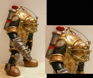 Look, Mr. Bubbles! a Bioshock Sculpture!