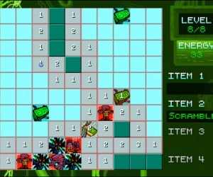 Onslaught of the Electric Zombies: Zombie Minesweeper