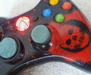Blood and Leds Make the Perfect Gears of War Controller
