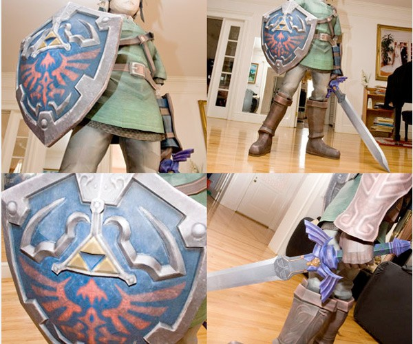 Life-Sized Link is Made of Paper