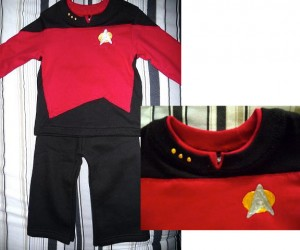 To Boldly Go Where No Baby has Gone Before