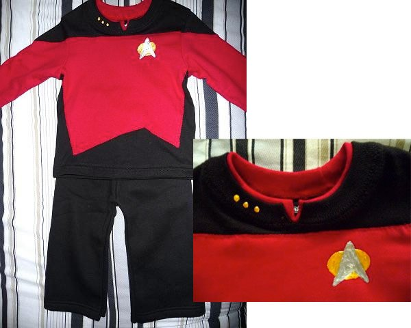 star trek baby costume halloween