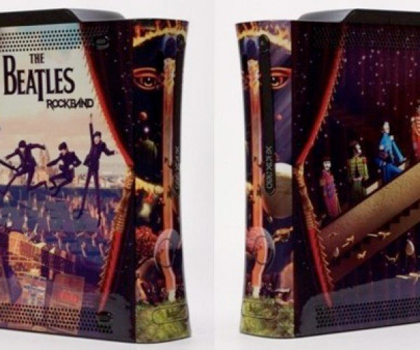 A Couple of Lucky People Will Nab These Custom Beatles Xbox 360s [Beatles Rock Band]