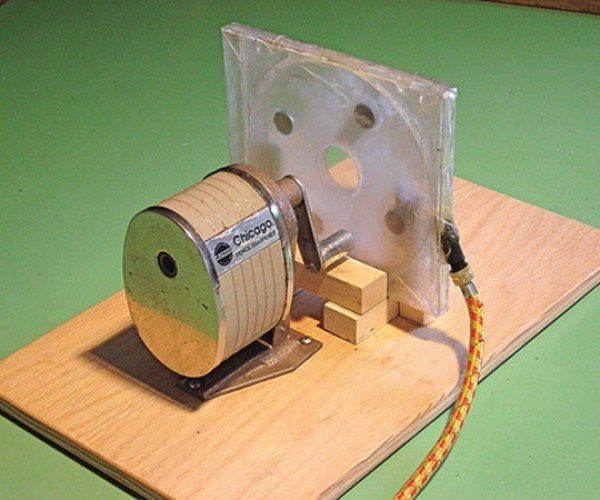 Tesla Turbine Pencil Sharpener: Not Even Half as Awesome as It Sounds