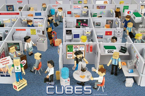 The cubes you 39 re probably one of them technabob for Distribucion de espacios de trabajo