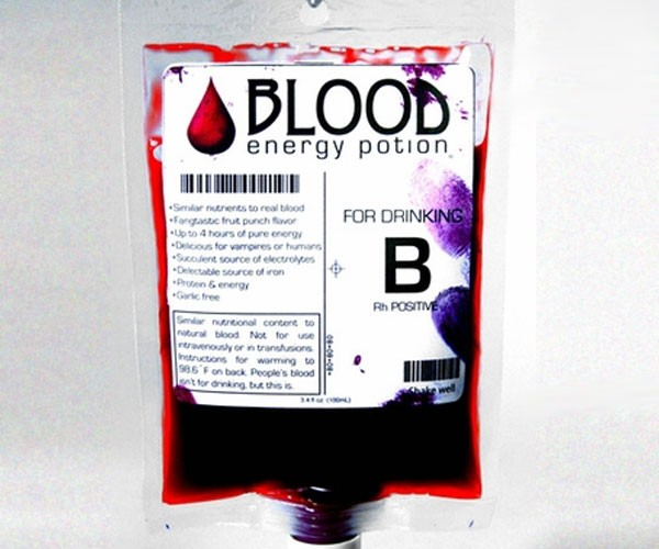 Blood Energy Potion: True Blood Comes True [Vampires]