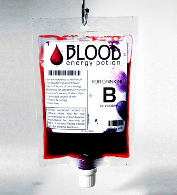 Blood Energy Potion True Blood Comes True Vampires