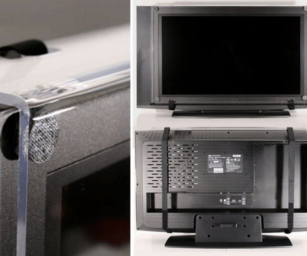 Tv Armor Protects Your Flat Screen Tv From Kids, Flying Wii-Motes, and Other Ufos