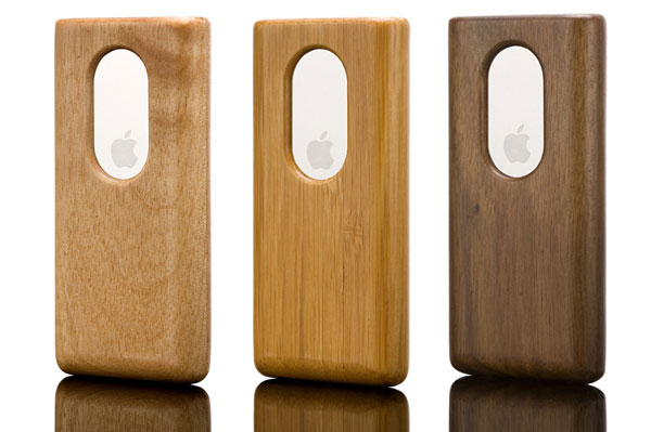 vers ipod nano wood case