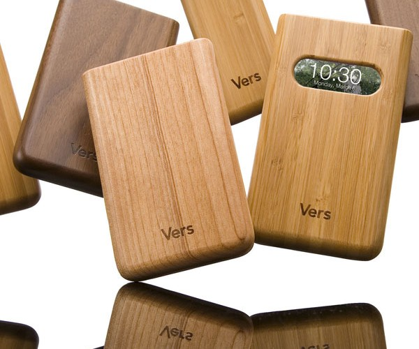 Vers Wooden iPhone and iPod Cases Are Gorrrrgeous