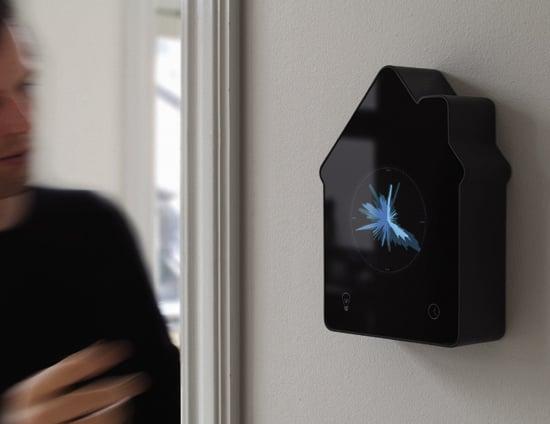 Energy Aware Clock, On Wall