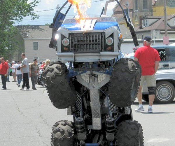Wicked Evolution Jr: Half Van, Half Monster Robot, Half-Assed Transformation