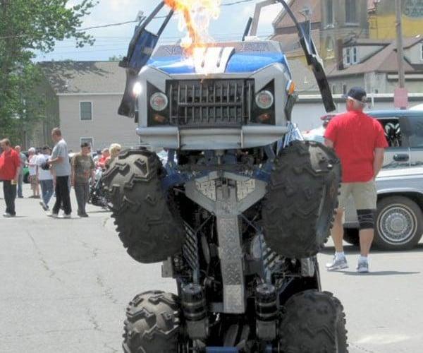 Wicked Evolution Jr: Half Van, Half Monster Robot, Half-Assed Transformation