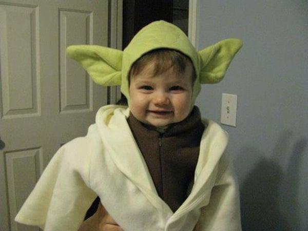 Star Wars Baby Costumes: Force Awwwwww