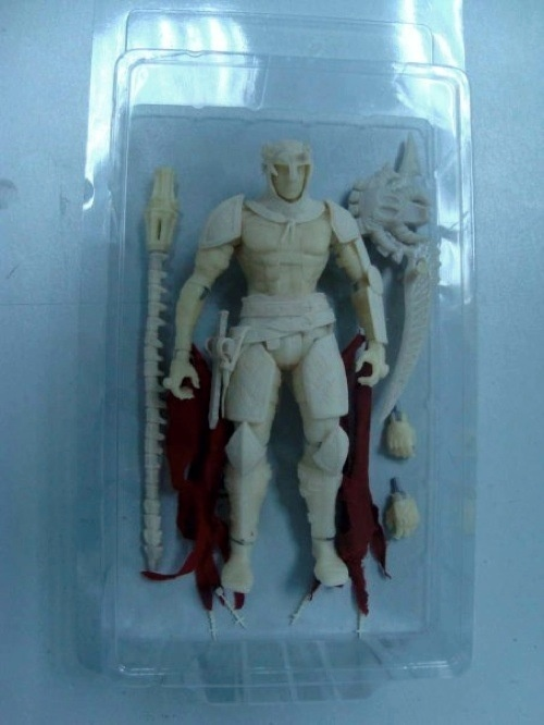 Unpainted Dante from 'Dante's Inferno'