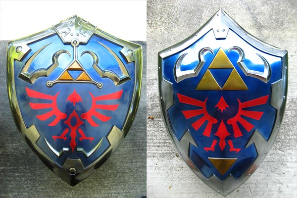 Twilight Princess Ocarina of Time shields