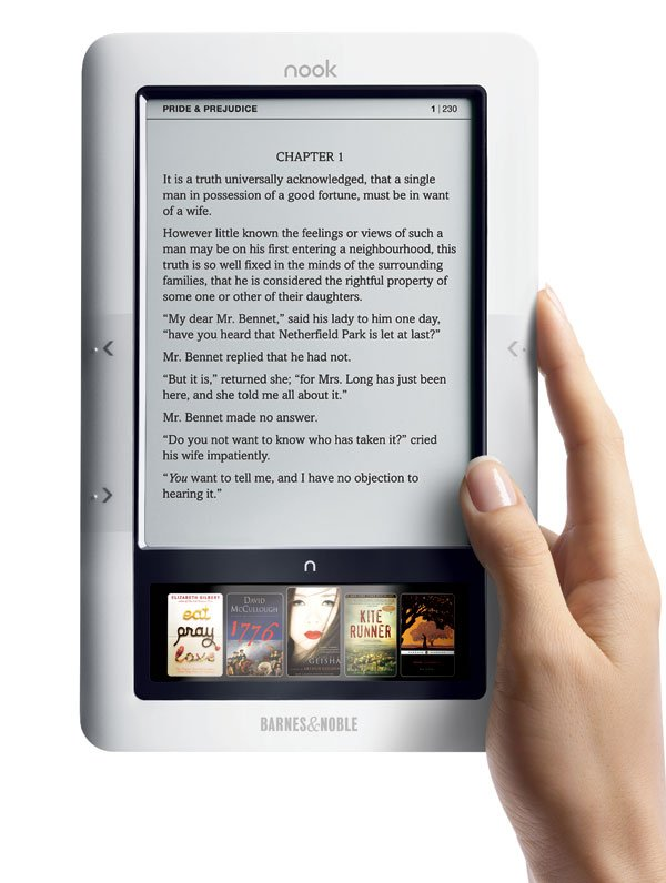 barnes and noble nook e book