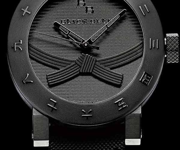 Black Belt Watch: Designed by Black Belts, Only for Black Belts.