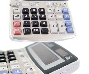 Calculator Conceals Tiny Spy Cam