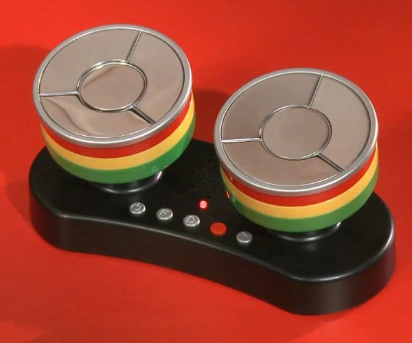 Caribbean Finger Steel Drums: DIY Desktop Reggae