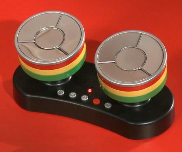 Caribbean Finger Steel Drums: DIY Desktop Reggae