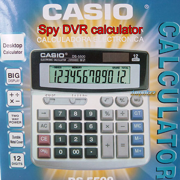 casio calculator spy cam