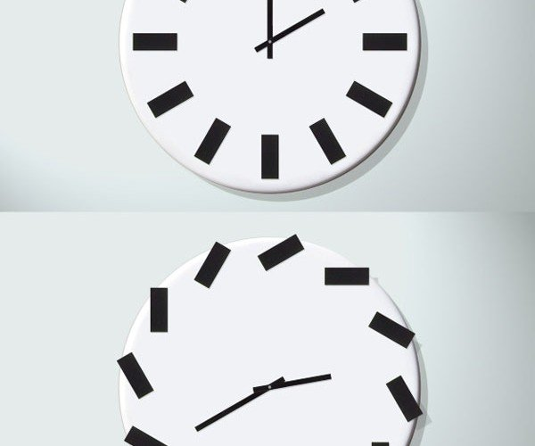 Chasing Time Wall Clock Never Stops Changing Itself