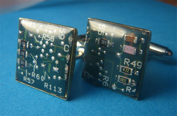 circuit board cufflinks 3