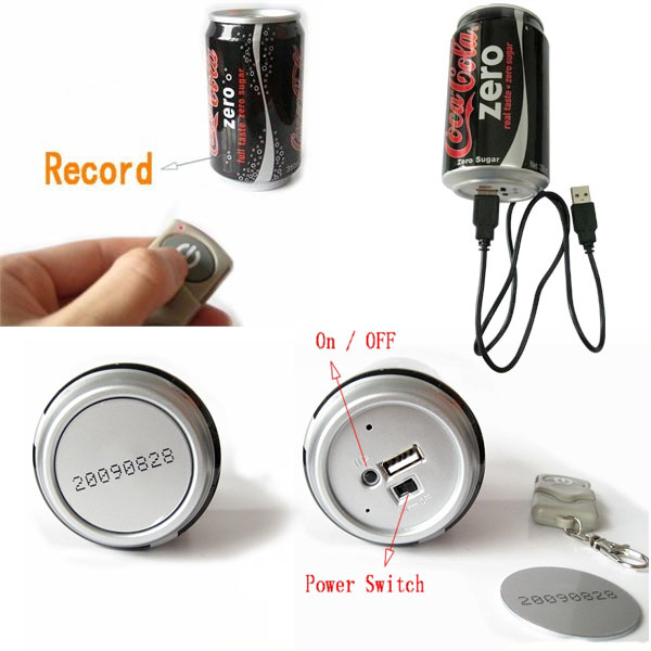 coke can spy cam