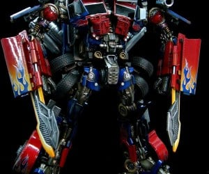 Optimized Prime: Customized Revenge of the Fallen Optimus Prime Toy on Ebay
